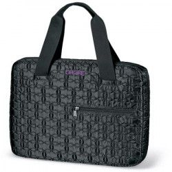 QUILTED LAPTOP TOTE SM