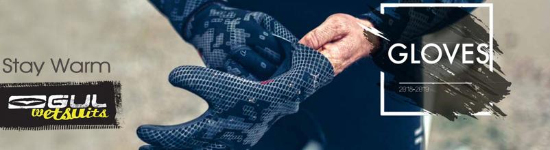 waterware neoprene gloves hoods gul