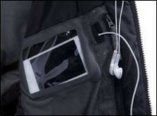 Multipurpose Pocket With Media Window and Goggle Venting Mesh Panel